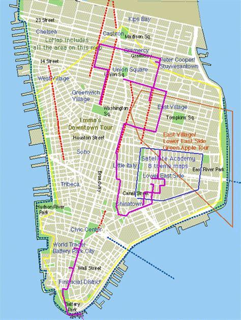 printable map lower manhattan maps update 58502825 manhattan tourist map large