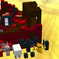 Lego Minecraft Cube World 1 lego ideas minecraft micro world nether