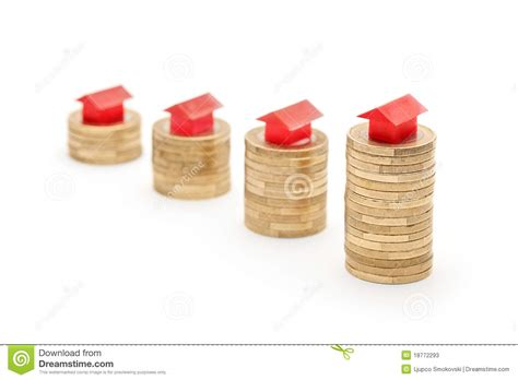 house prices going up stock photos image 18772293