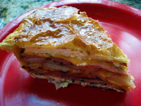 clutzy cooking breakfast pie
