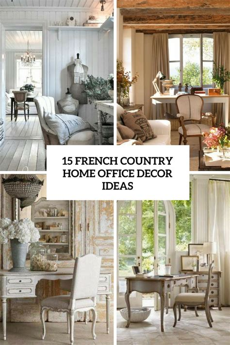 how to decorate a country home home offices archives shelterness