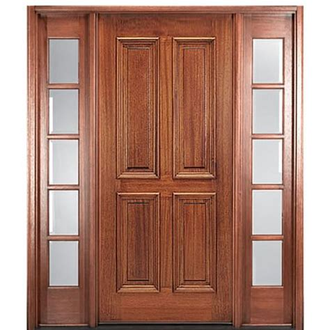 Mai Doors Mc11ap 1 2 Square Top 4 Panel Exterior Door And 4 Panel Exterior Door