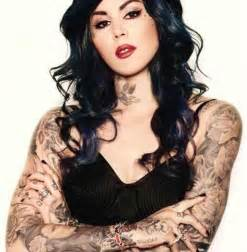 d von tattoo artist and model the beautiful kat von d
