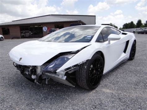Wrecked Lamborghini by Sell Used Salvage Repairable Wrecked Rebuilder Lp550 2