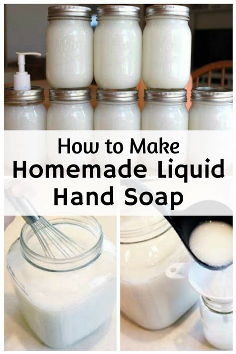 How To Make Handmade Soap - how to make liquid soap the budget diet