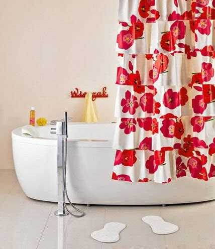 why does my shower curtain turn pink diy bright hand made flamenco shower curtain home
