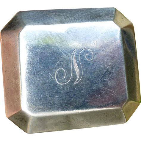 vintage sterling silver ring box henry birks sons from