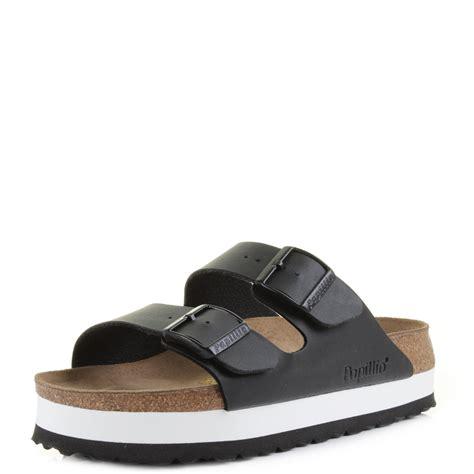 Birkenstock Arizona Black Original womens birkenstock arizona papillo black white narrow fit sandals shu size ebay