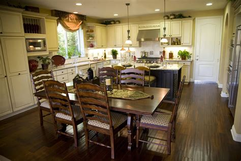 kitchen island dining 39 fabulous eat in custom kitchen designs