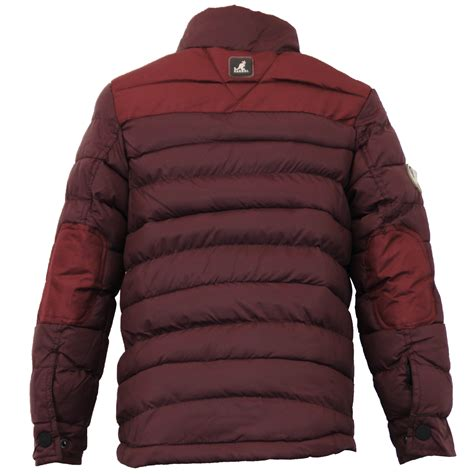 Boys Quilted Coat by Boys Jacket Kangol Coat Padded Quilted Puffer Funnel