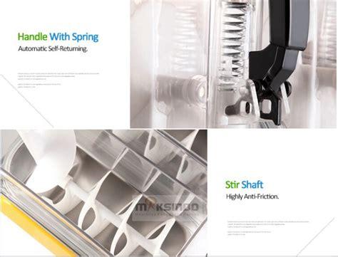 Mesin Es Salju jual mesin slush es salju dan juice slh02 di surabaya toko mesin maksindo surabaya toko