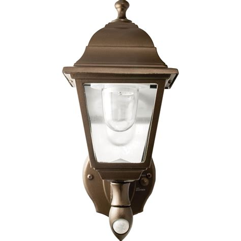 Maxsa Motion Activated Led Outdoor Wall Sconce 85 Lumens Battery Outdoor Lighting