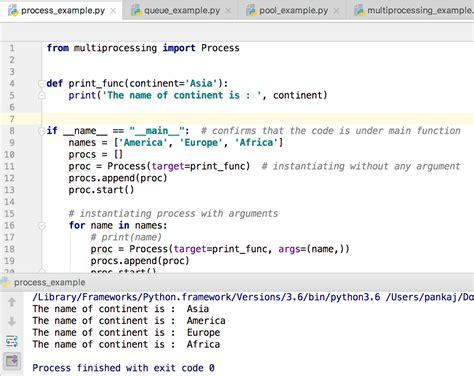 python tutorial queue python multiprocessing exle journaldev