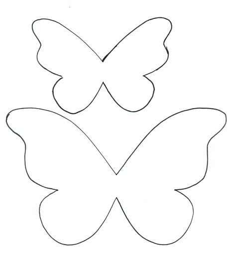 butterfly paper cut out template butterfly paper cutting template