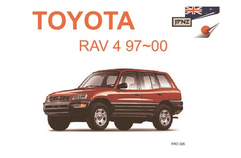 car owners manuals for sale 2007 toyota rav4 electronic throttle control toyota rav4 car owners user manual 1997 2007 sxa16g