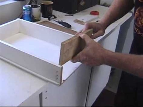 Fix A Drawer by Fixing A Drawer Wmv Home Decorating
