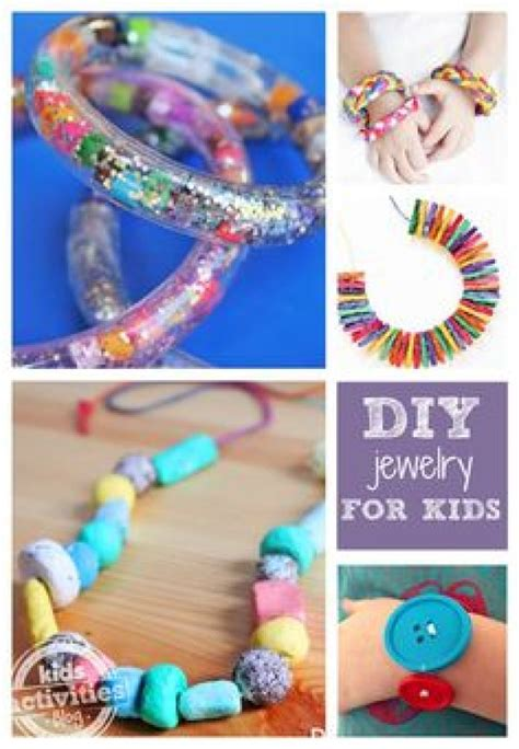 diy projects for kids handmade jewelry ideas for kids