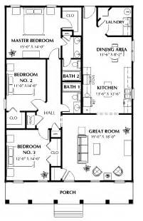 Simple Three Bedroom House Plan by 301 Moved Permanently