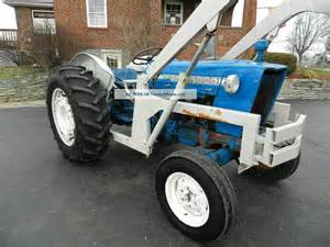 ford 4000 tractor loader gas
