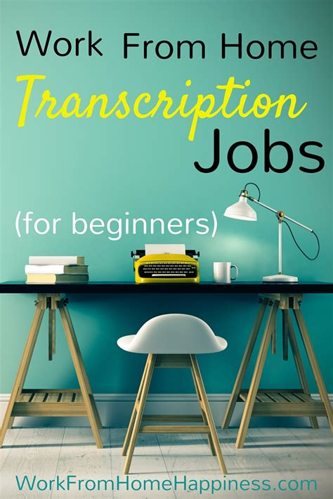 transcriptionist working from home forex