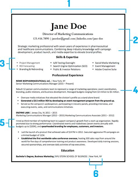 What Should My Resume Look Like by What Your Resume Should Look Like In 2018 Money