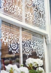 stencilling on windows design inspiration planet