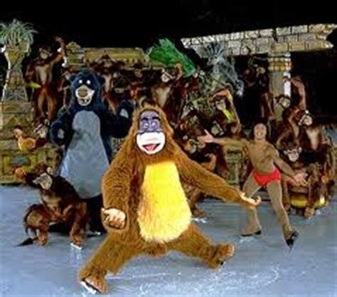 king of the swing jungle book disney jungle adventures on ice disney wiki fandom