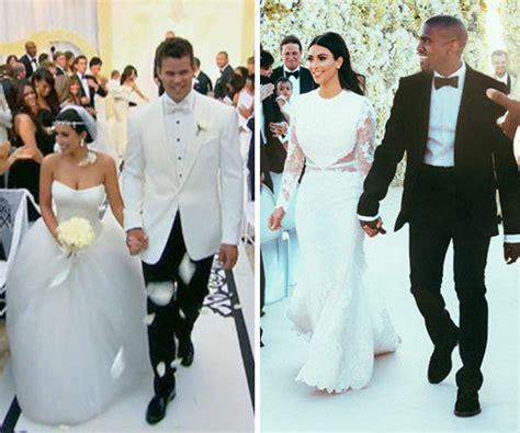 kim kardashian marriage kris humphries kim kardashian s wedding dresses battle kris humphries v