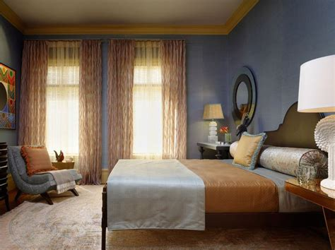 Periwinkle Bedroom Ideas by Maize And Dusty Periwinkle Bedroom Home Design Ideas