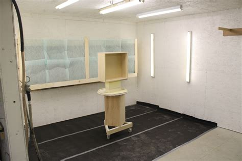 cabinet shop spray booth custom woodworks