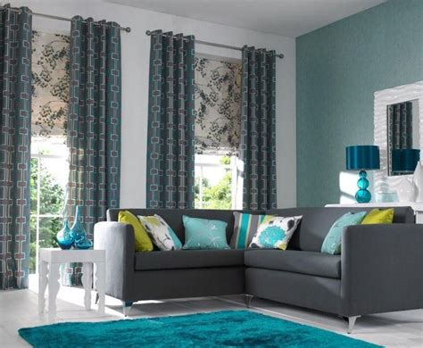 Teal And Gray Curtains Decorating Teal Decorating Ideas For Living Room Coma Frique Studio