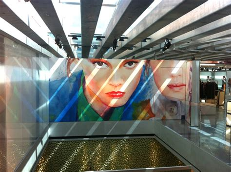 Prada Series 8103 2 Set 2 In One model illustrations appear in prada flagship stores the front row view