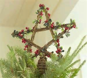 pb inspired rattan star christmas tree topper christmas