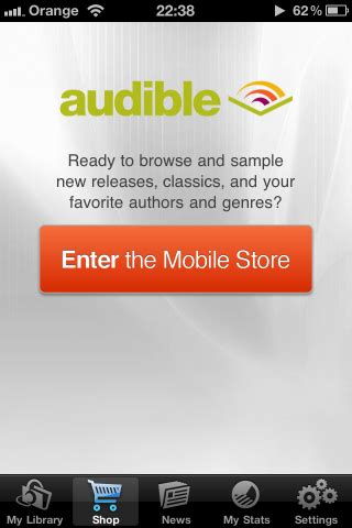 audible mobile store app audible breaks apple s and adds mobile store link to