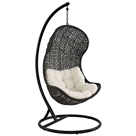 Parlay Swing Outdoor Patio Lounge Chair Manhattan Home Swing Patio Chair