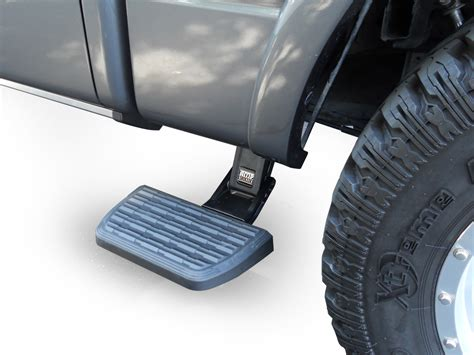 truck bed side step bedstep 2 truck bed side step by amp research for ford trucks 2009 2014 ford f 150