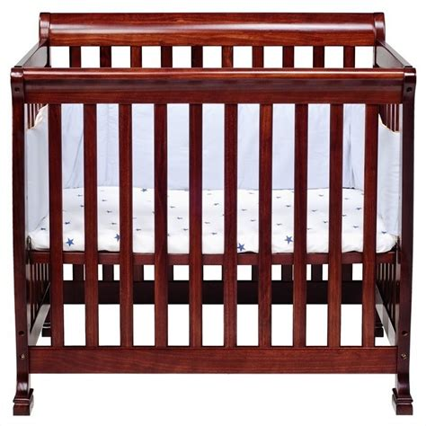 Mini Crib With Changing Table Davinci Kalani Mini 2 In 1 Convertible Crib With Changing Table In Cherry M5598c M5555c Pkg