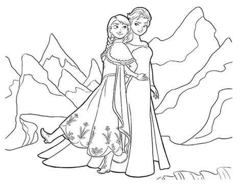 queen elsa and princess anna coloring pages 95 coloring page queen elsa walt disney queen elsa
