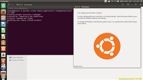 quickly tutorial ubuntu application quickly python tutorial working with guithe tara nights