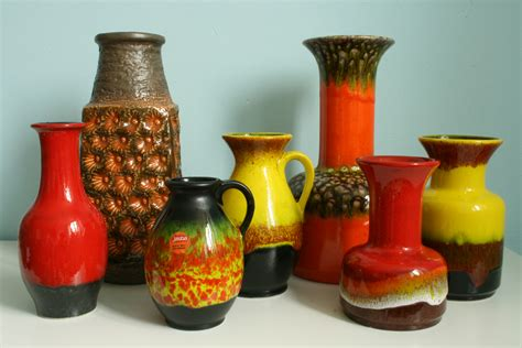 colorful vases the colorful world of jasba on pottery