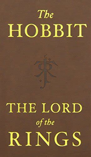 0007509847 the hobbit and the lord the hobbit and the lord of the rings deluxe pocket boxed