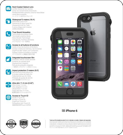 catalyst 174 for iphone 6 technical specifications catalystcase