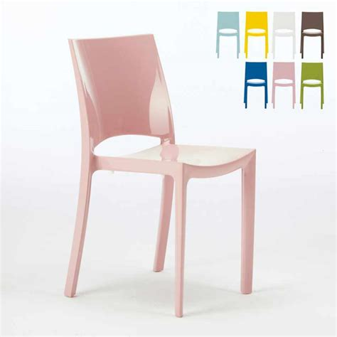 sedie grand soleil sedie per cucina e bar lucida grand soleil design