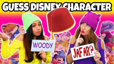 Did You Guess Right by Guess The Disney Character By The Hat How Many Disney
