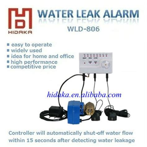 electronic leak alarm for home use water leak detection