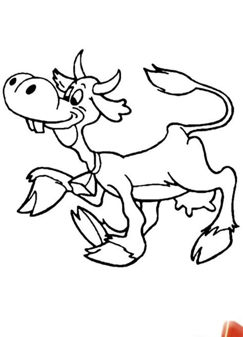 skinny cow coloring page fat and skinny cows pharaoh dream of sketch coloring page