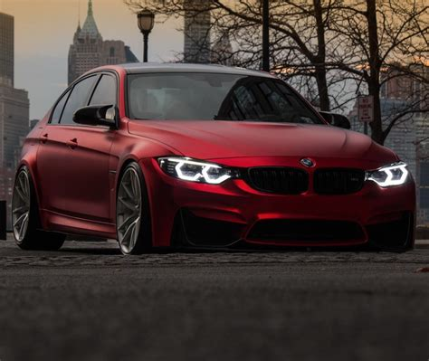matte red bmw matte chrome red f80 m3 bmw cars m3 car m4 auto
