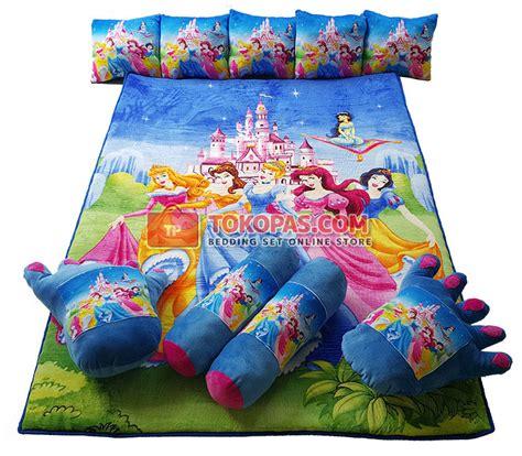 Karpet Karakter Frozen Biru karpet selimut set karakter murah