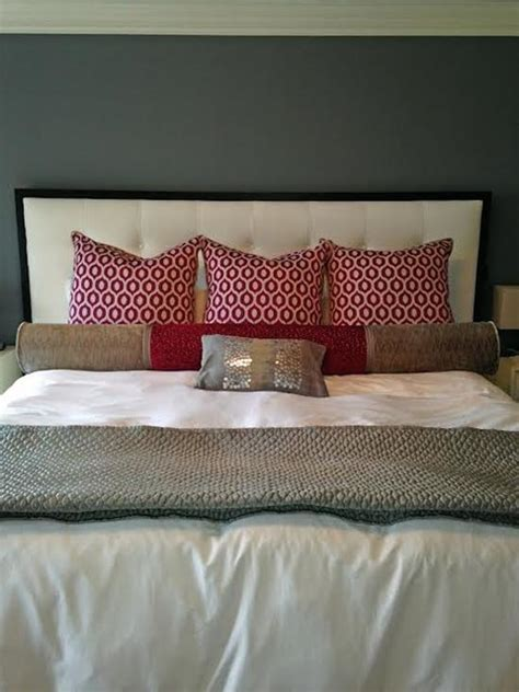 custom bed pillows custom bedding pillows transitional bedroom other