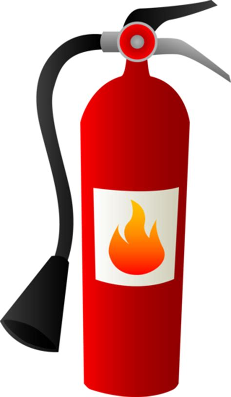 Food Truck Kitchen Design by Fire Extinguisher Free Clip Art